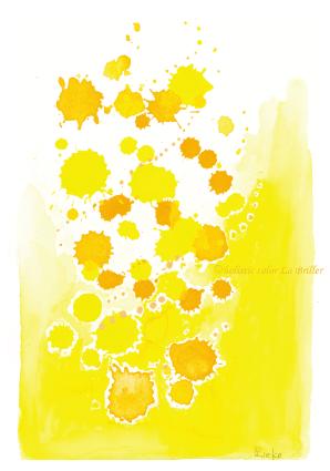 今日のテーマカラー:黄色「計画を立てる」