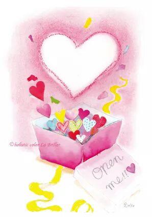 今日のテーマカラー:ピンク「愛を選ぼう」