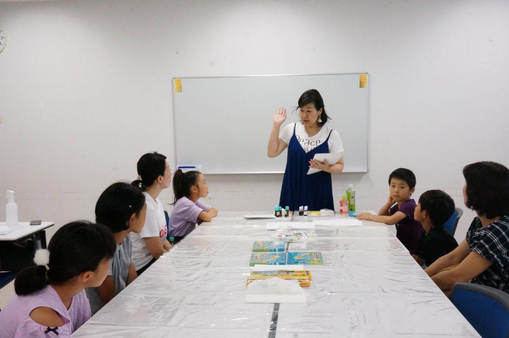 子ども夏休み自由研究「つくろう!カラフル石けん」。名古屋・奈良開催。小学生対象。