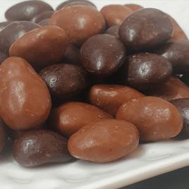 Amandes enrobées chocolats 100% bio
