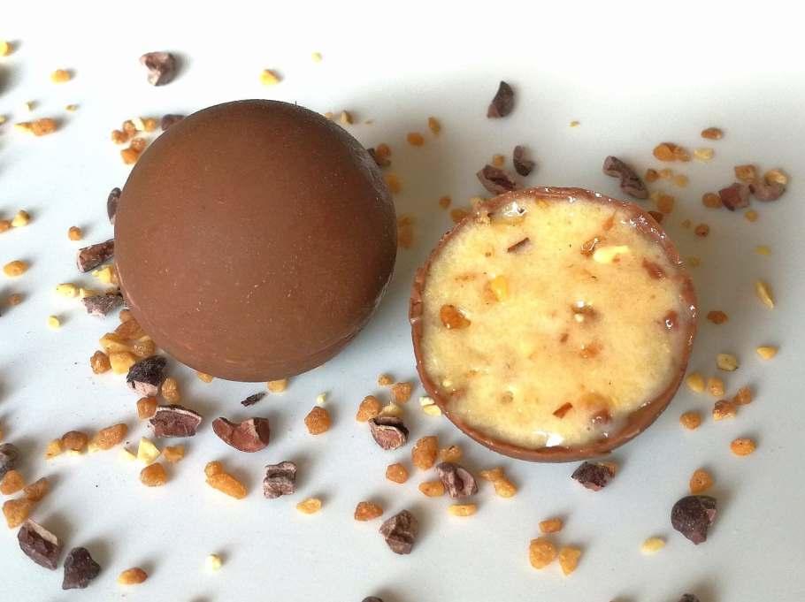 Chocolats fourrés et fondants protéinés