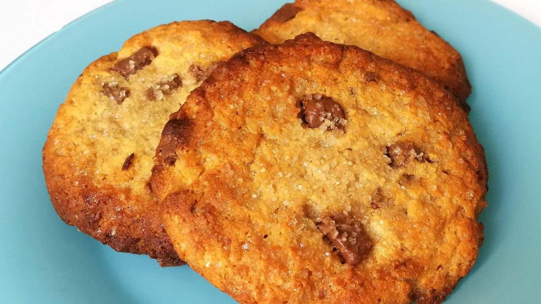 Cookies aux pépites de chocolat protéinés