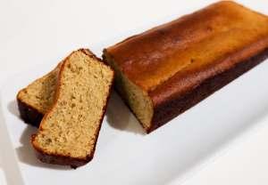 banana bread diététique