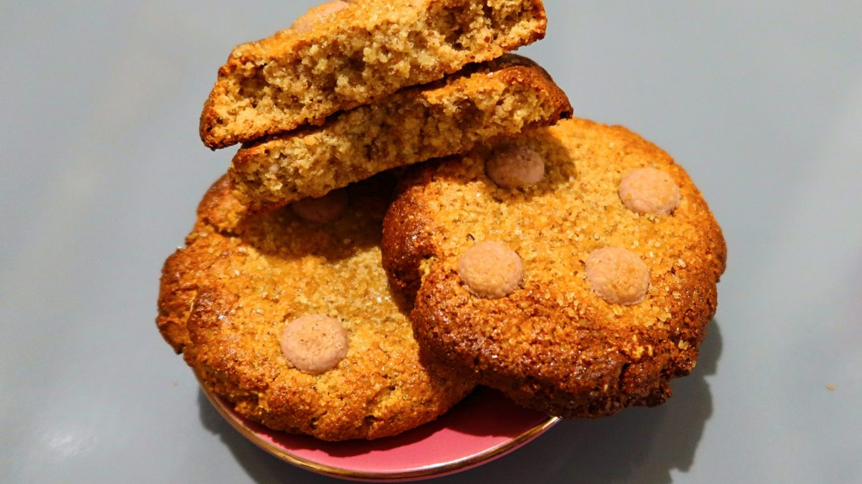 Cookies aux amandes et chocolat