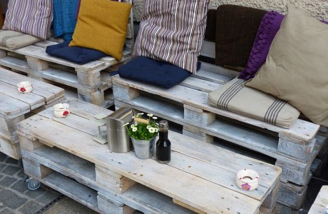 Cafe Rustic Outdoor Furniture