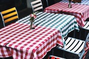 Décoration de table de jardin pour la fête et pour tous les jours