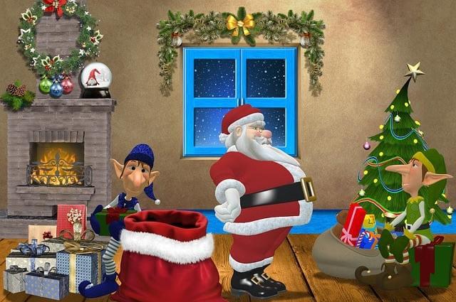 Christmas Santa Claus Gifts  - JaymzArt / Pixabay