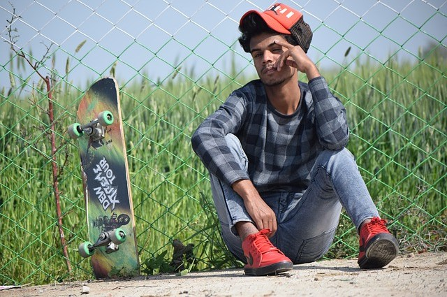 Portrait Skateboard Smile Skater  - Hyper_nawab / Pixabay