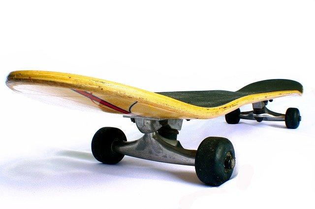 Skate concave