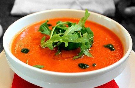 Tomato Soup Soup Gazpacho  - tortic84 / Pixabay