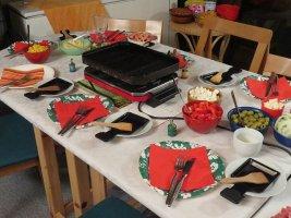 La raclette de Noël et du réveillon: les recettes pour les fêtes de fin d'année