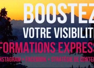 workshops visibilité cours formations réseaux sociaux facebook instagram
