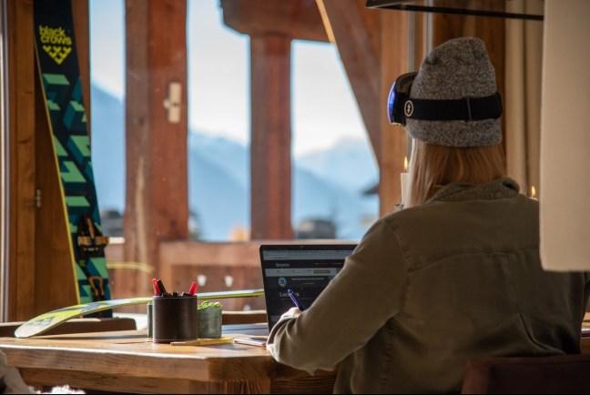 tendance workation workcation alpes montagnes