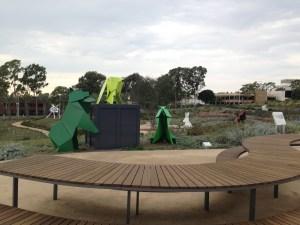 Strolling Through a Newport Beach Sculpture Garden
