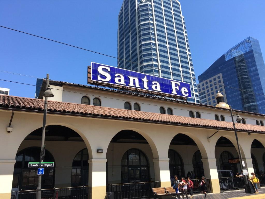 Taking the Train to San Diego
