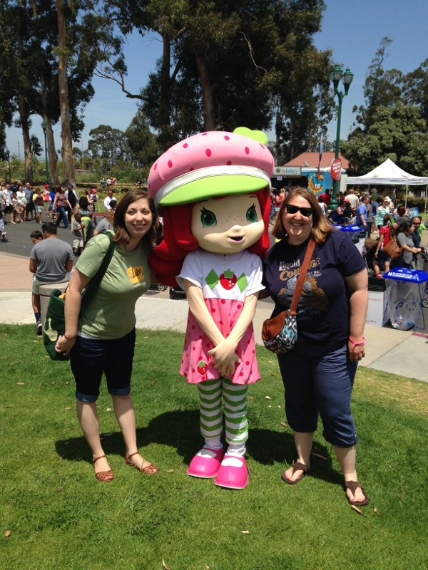 Strawberry Shortcake and the California Strawberry Festival