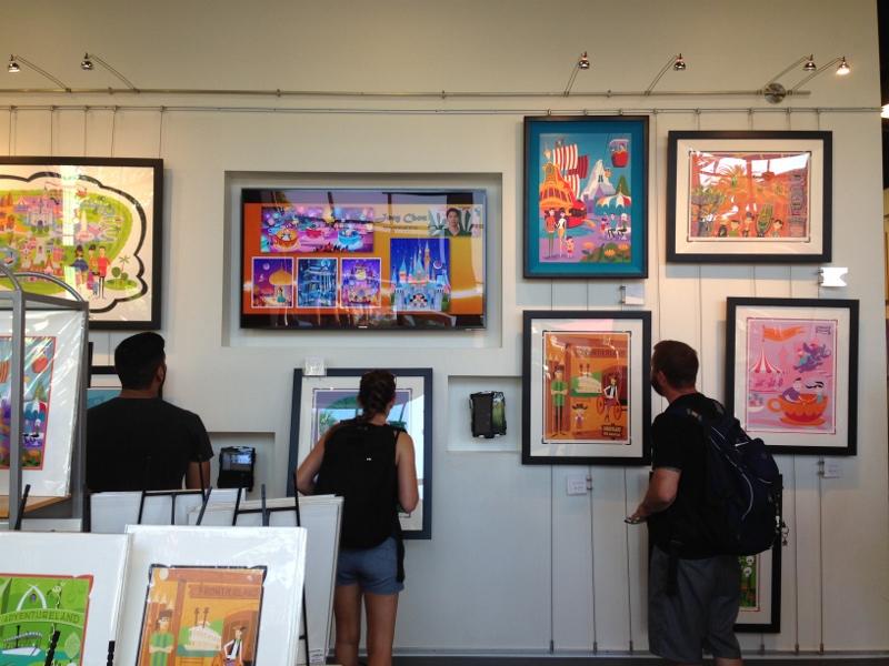 Meeting Shag at WonderGround Gallery