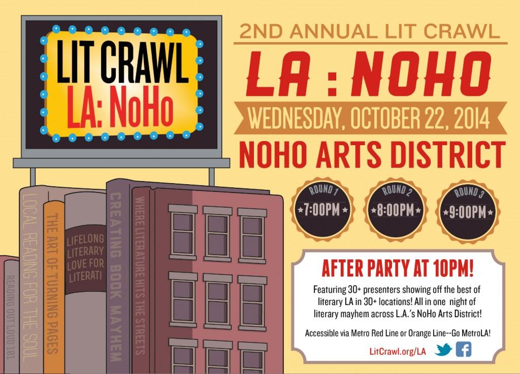 Lit Crawl LA: NoHo