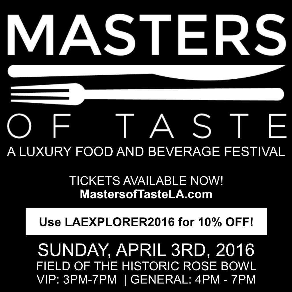 Masters of Taste Promotional Image - LA Explorer