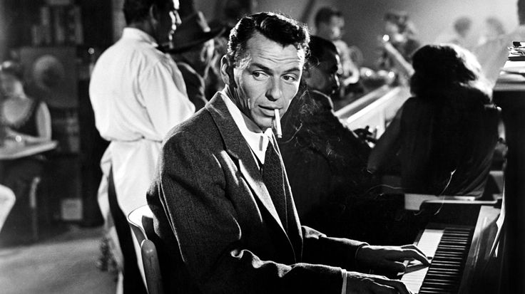 Mandatory Credit: Photo by Courtesy Everett Collection / Rex Features ( 794710a ) YOUNG AT HEART, Frank Sinatra, 1955 YOUNG AT HEART, Frank Sinatra, 1955
