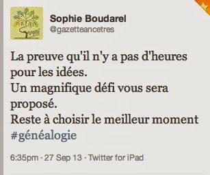 100 mots pour une vie, geneatheme, Séraphine Carpantier