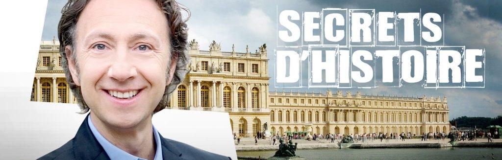 Stéphane Bern - Secrets d'Histoire - émission télé
