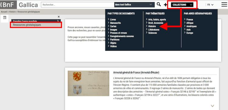 Gallica créé une page dédiée à la généalogie