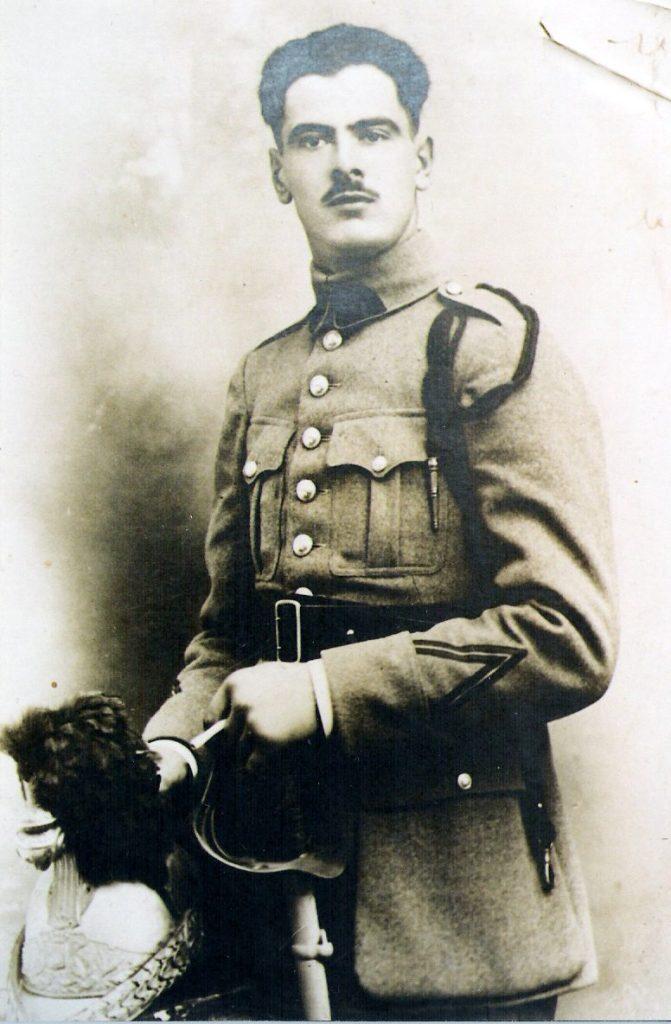 Marcel Simard, 4e régiment de Hussards