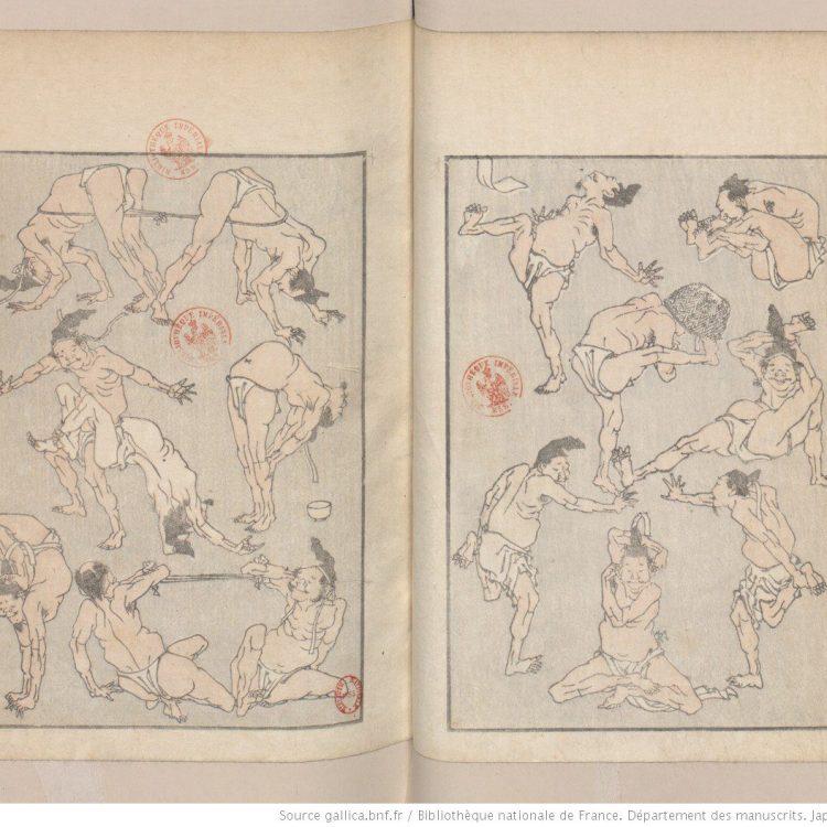 yonkoma, hokusai, manga, challengeaz