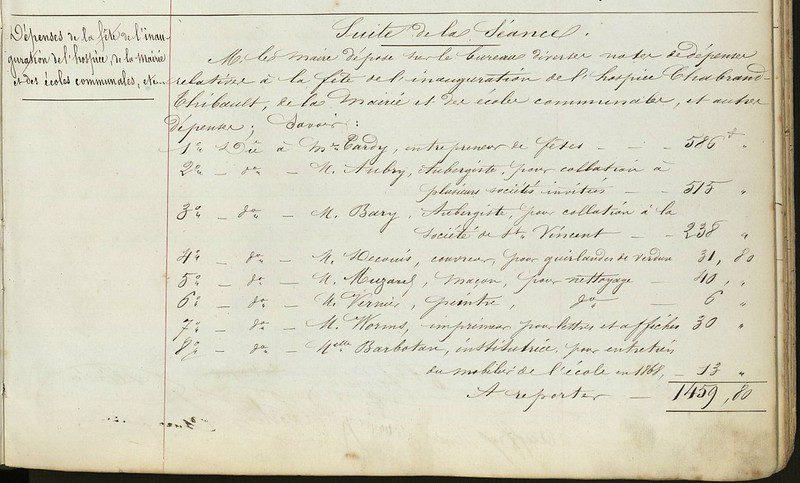 délbérations municipales ville de Cormeilles-en-Parisis, généathemes, sources, archives municipales, généalogiste professionnel