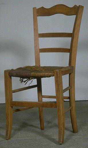 Chaise à rempailler
