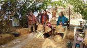 Stage ruche au jardin solidaire à Hyères & ambiance paille !