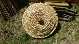 Dessus du couvercle de la ruche