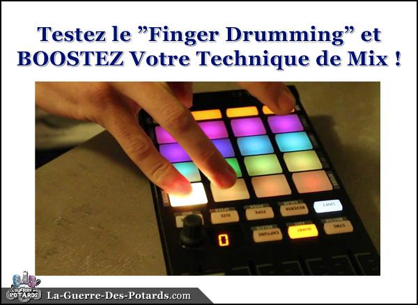 technique de mix finger drumming