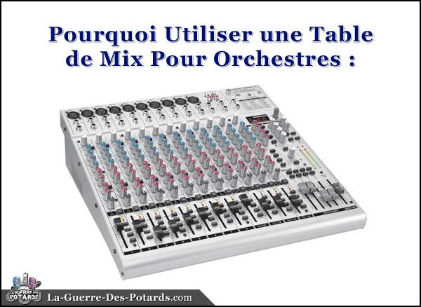 table de mix