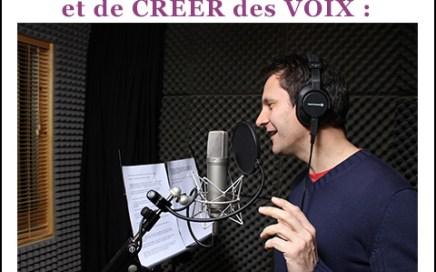 production musicale voix
