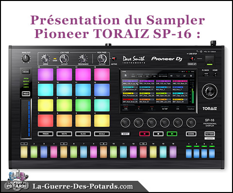 materiel dj pioneer toraiz sp-16