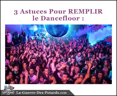 comment mixer dancefloor