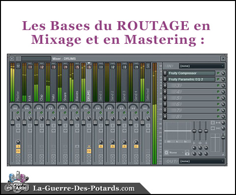 mixage routage