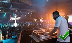 DJ resident club