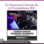 apprendre a mixer formation dj damian rocks