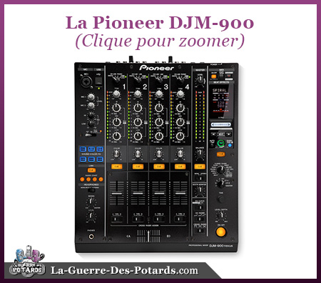 table mix pioneer DJM 900
