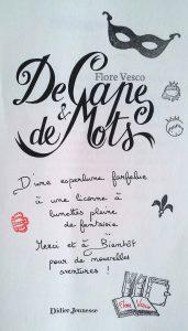 De Cape Et De Mots : Licorne, Lunettes