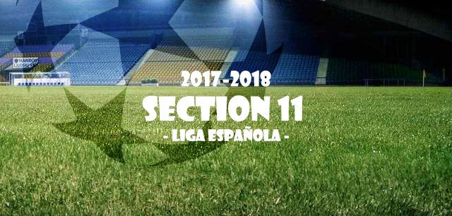 第11節リーガ・エスパニョーラ(Liga Española)