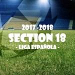 第18節 リーガ・エスパニョーラ(Liga Española)