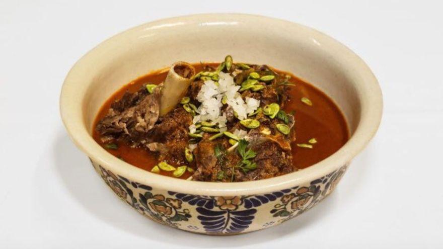 Nicos comida mexicana tipica estofado sopa