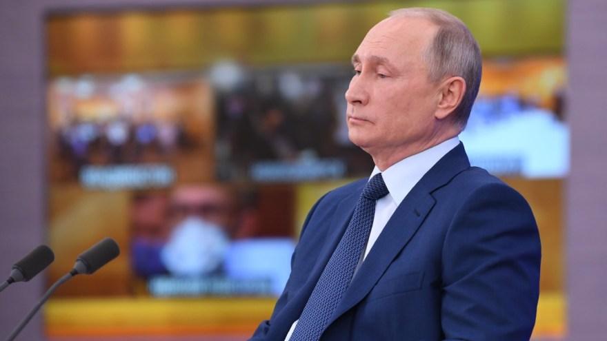 Vadimir Putin Rusia