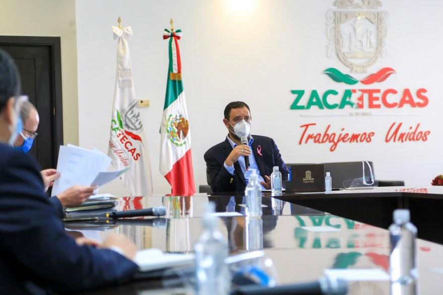 Alejandro Tello, Gobernador de Zacatecas