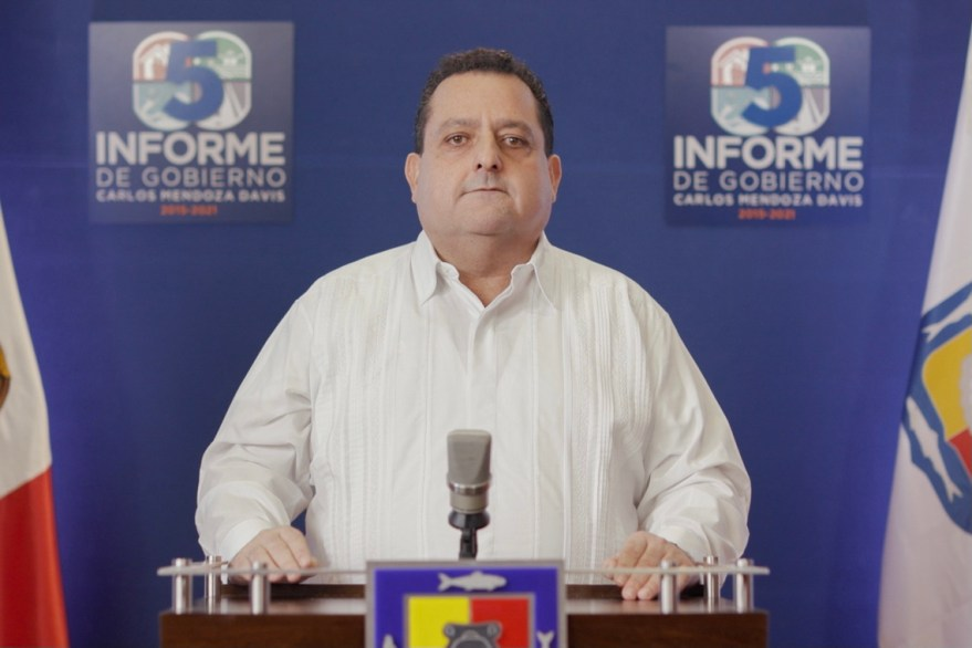 Carlos Mendoza, Gobernador de Baja California Sur