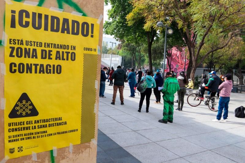 Semaforo Mexico Coronavirus Pandemia Contagios